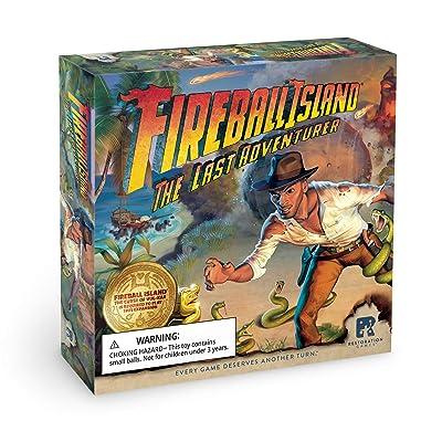 Restoration Games Fireball Island: The Last Adventurer, Multi-Colored: Toys & Games