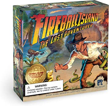 RESTORATION GAMES Fireball Island: Last Adventurer: Amazon.es ...