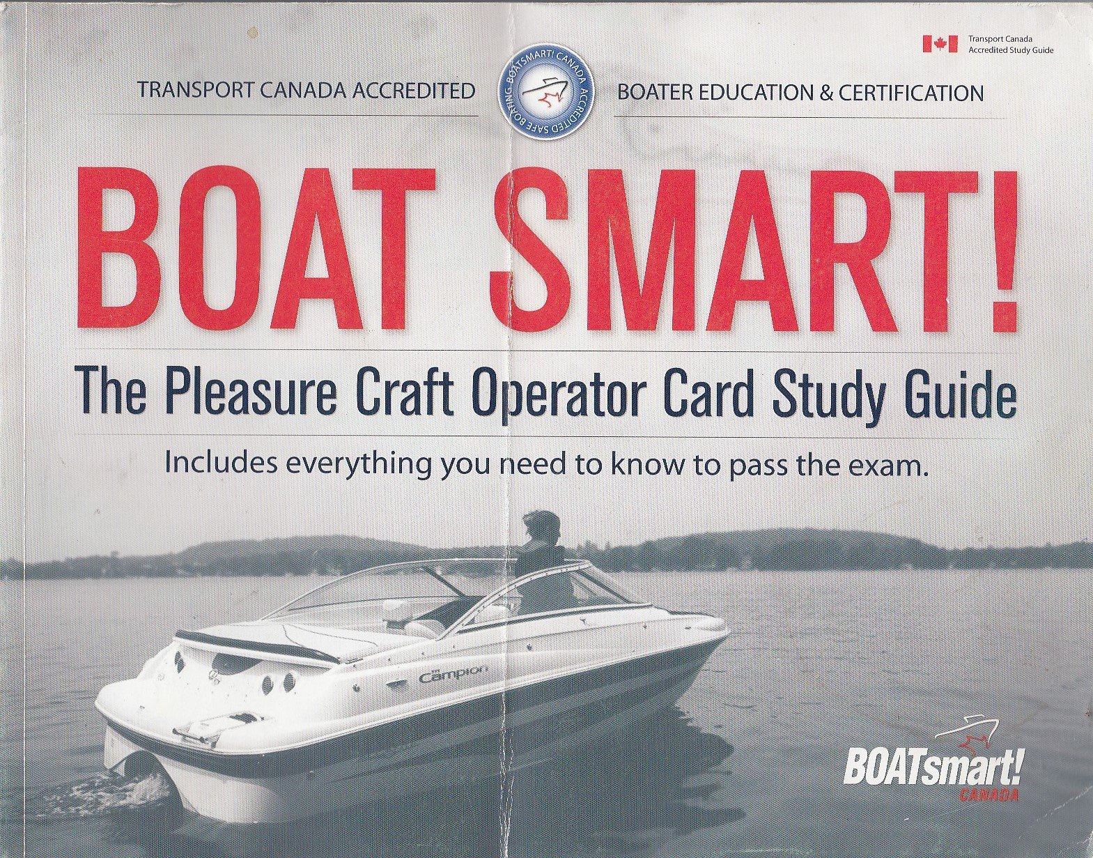 Boat Smart The Pleasure Craft Operator Card Study Guide Paperback – 2005