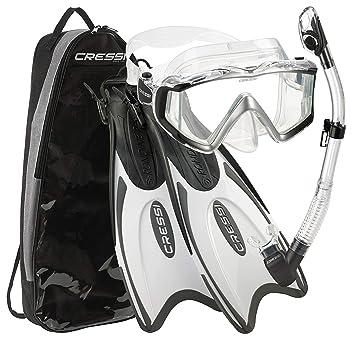 Amazon.com: Cressi Palau – Juego de snorkel de alta calidad ...
