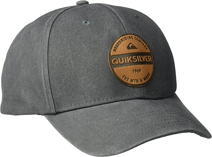 Quiksilver - Gorra de béisbol - para Hombre Gris Estampado Variado ...