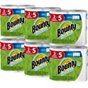 Bounty Quick-Size Paper Towels 12 Family Rolls