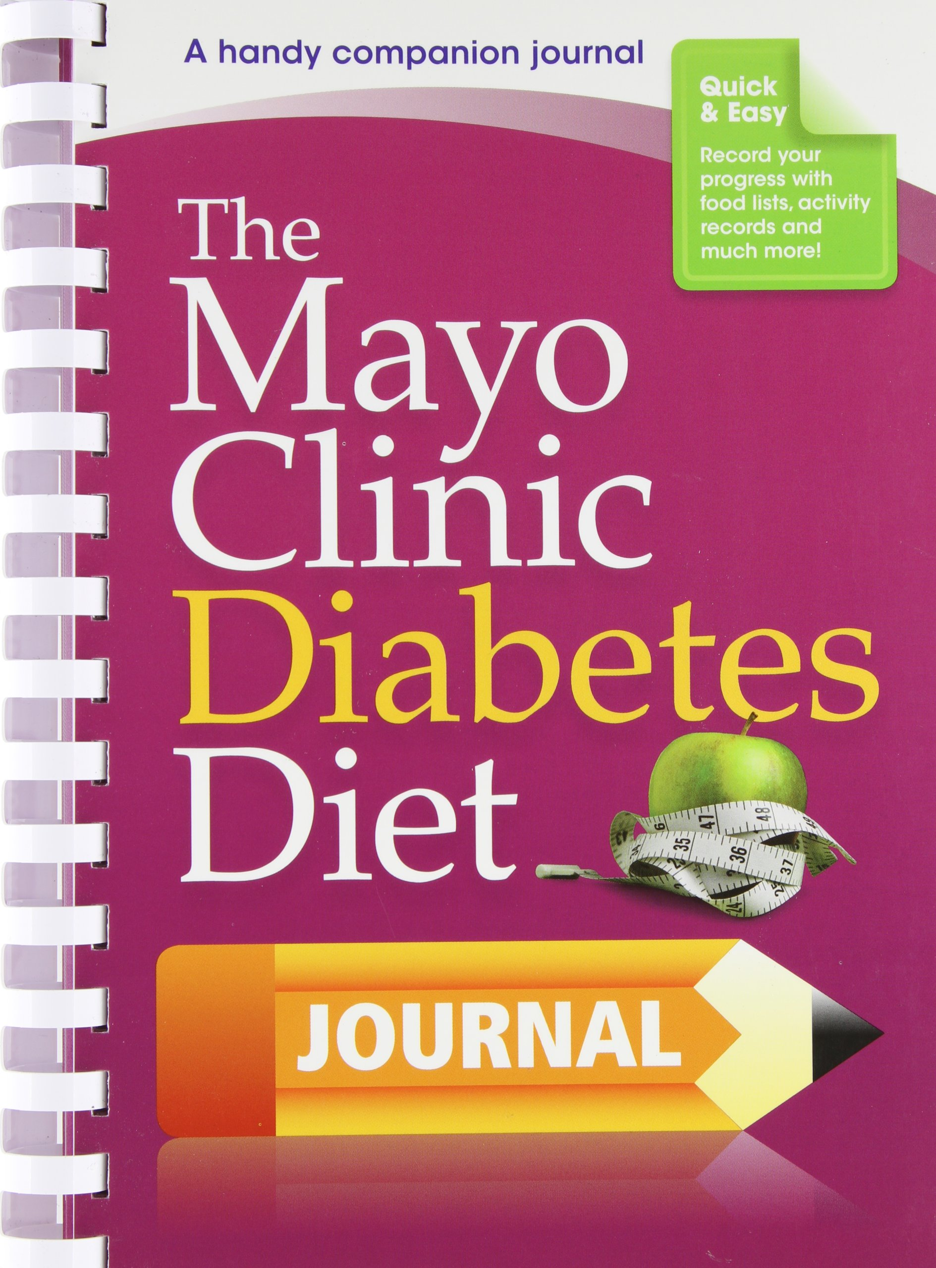 The Mayo Clinic Diabetes Diet Journal: A handy companion journal ebook