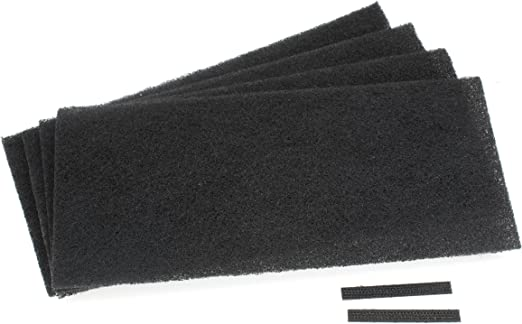 4-Pack Air Purifier Activated Carbon Pre-Filters Compatible For AOR31