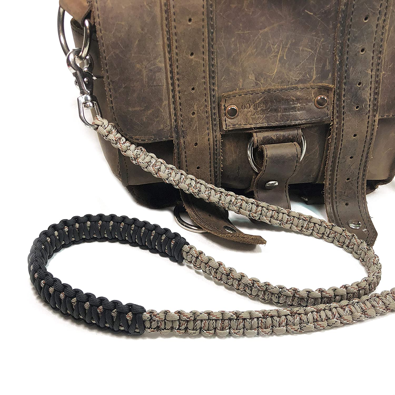 Satchel Strap Desert Camo Paracord 42 inch Cross Body Shoulder Strap Handbag Duffel Bag Lunch Bag