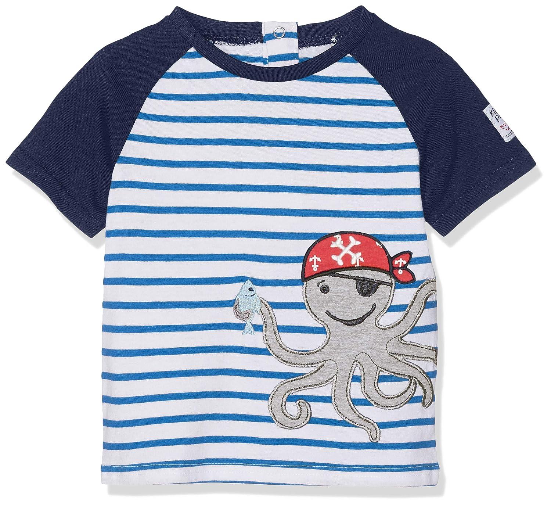 SALT AND PEPPER Baby-Jungen T-Shirt B Pirat Stripe Krake
