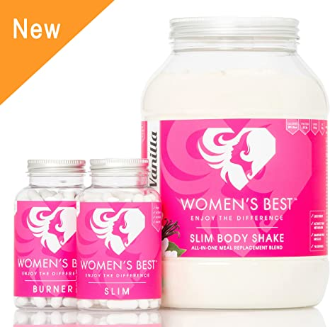 Womens Best Diet Bundle Meal Replacement Shakes Slim Caps And Burner Capsules Cookies Cream Amazon Co Uk Health Personal Care