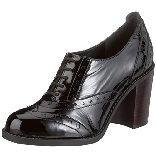 Clarks 20332726 - Mocasines de charol para mujer, color negro, talla 37: Amazon.es: Zapatos y complementos