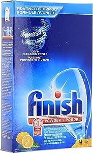 Finish Dishwasher Detergent Powder, Lemon Fresh Scent, 105 Ounce