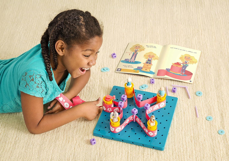 Grades 3-4 Juvenile Nonfiction GoldieBlox and The Spinning Machine BT001 Toys Dolls /& Puppets Children