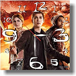 Art time production Percy Jackson 11'' Handmade Wall Clock - Get Unique décor for Home or Office – Best Gift Ideas for Kids, Friends, Parents and Your Soul Mates