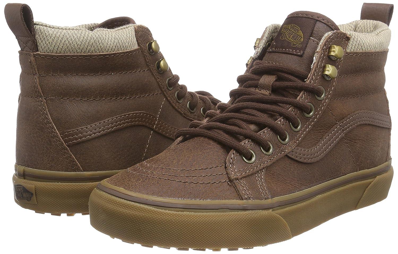 Vans Sneakers Sk8-hi MTE, Unisex-Erwachsene Hohe Sneakers Vans Braun (Mte/Braun/Herringbone) 399aa1