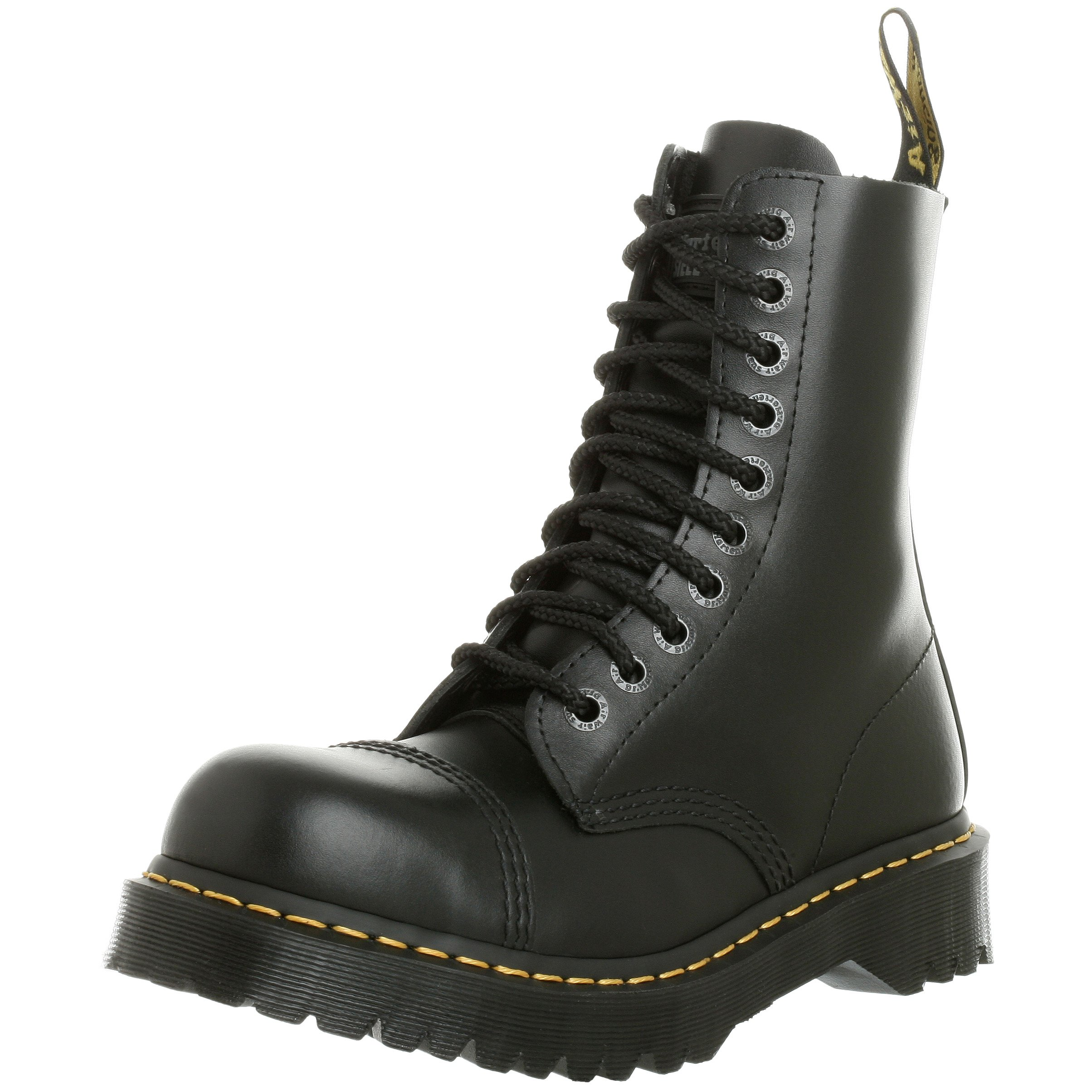Dr. Martens Men's/Women's 8761 Boot, Black,5 UK/M 6- W 7 M US