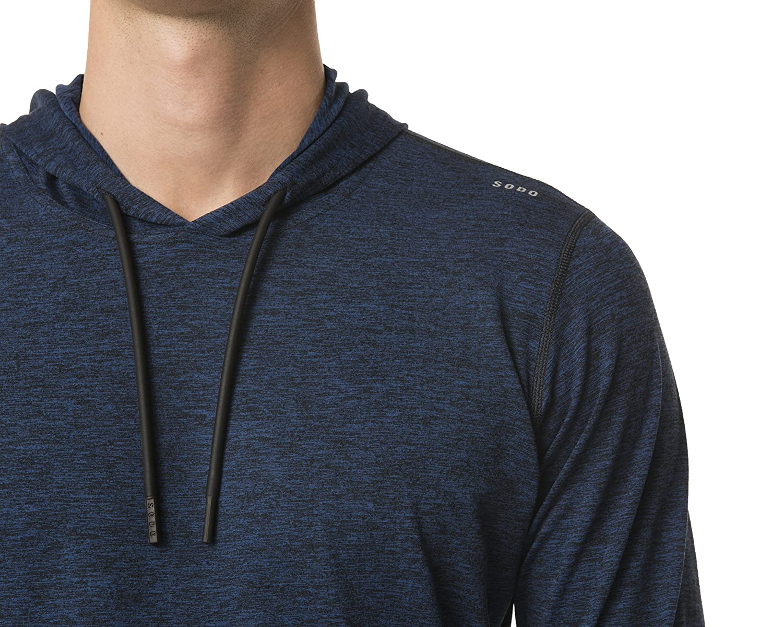 211a1a8c0d2 Amazon.com : SODO Men's SLU Premium Performance Pullover Hoodie : Clothing