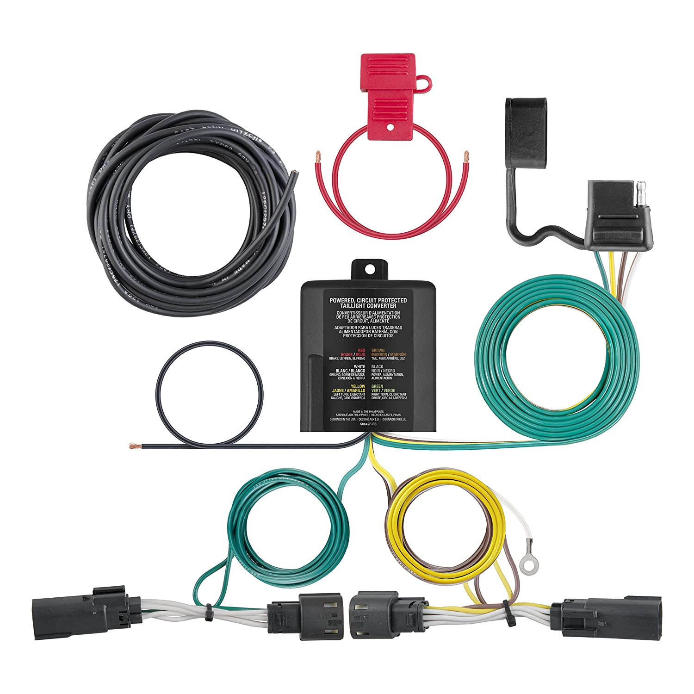Curt Manufacturing 56343 Custom Wiring Harness