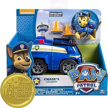PAW PATROL – Chase – Spielfigur + Fahrzeug mit Sound: Amazon
