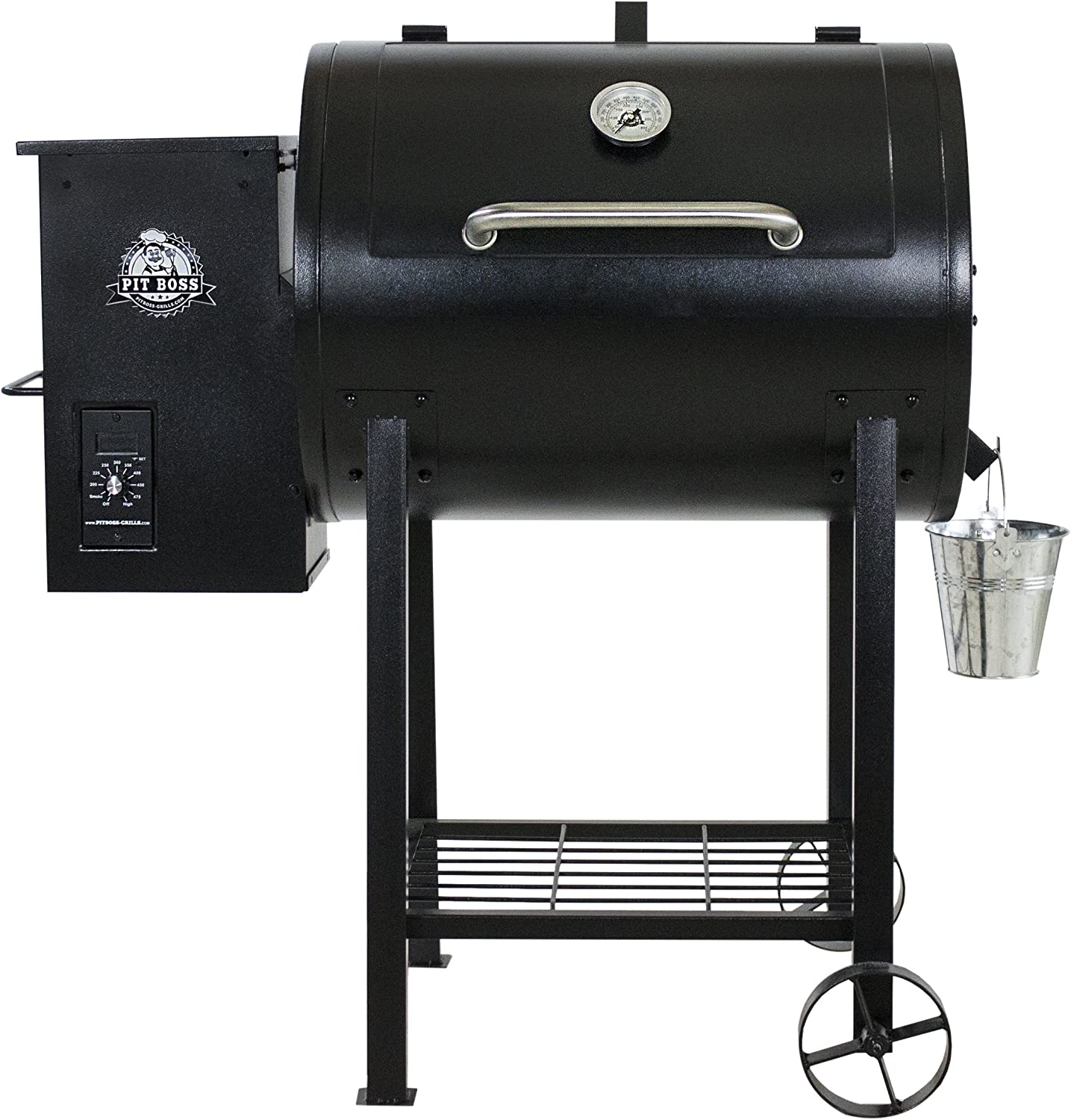Pit Boss Pb700fb Wood Fired Pellet Grill W Flame Broiler Bbq Black 105x68x111 25 Cm Amazon Co Uk Garden Outdoors