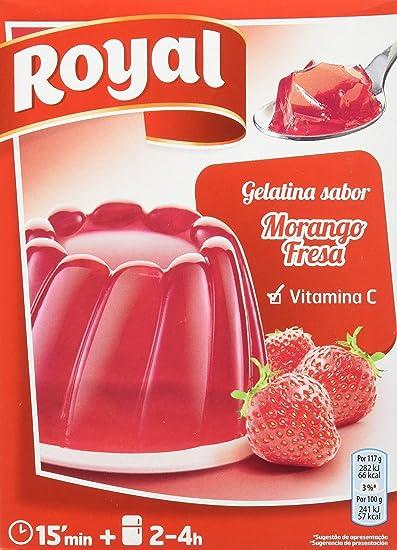 Royal - Gelatina Sabor Fresa, 170 g - [pack de 3]: Amazon.es: Alimentación y bebidas