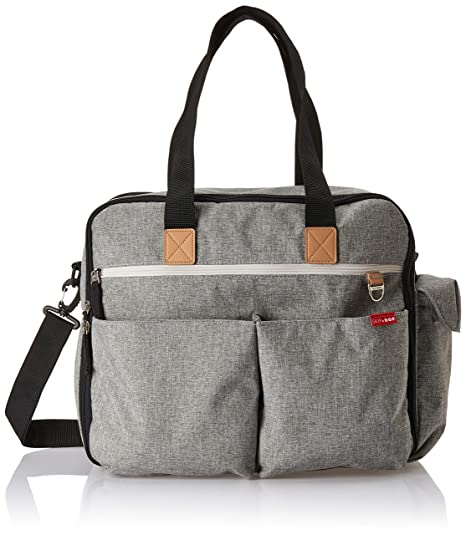 84e4c8c50636 Amazon.com  Skip Hop Weekender Travel Diaper Bag Tote with Matching  Changing Pad