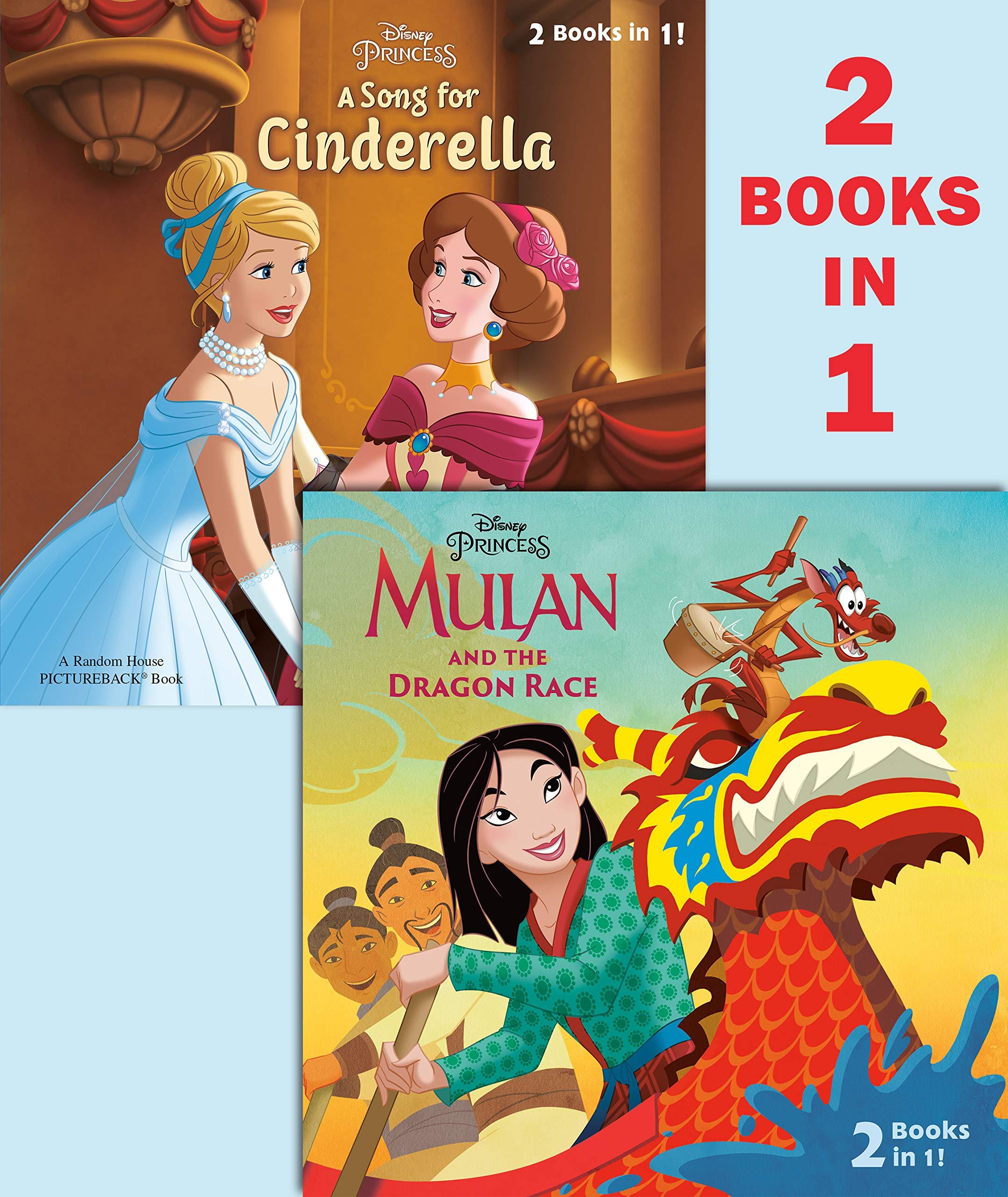 Mulan And The Dragon Race A Song For Cinderella Disney Princess Pictureback R Random House Random House 9780736441209 Amazon Com Books