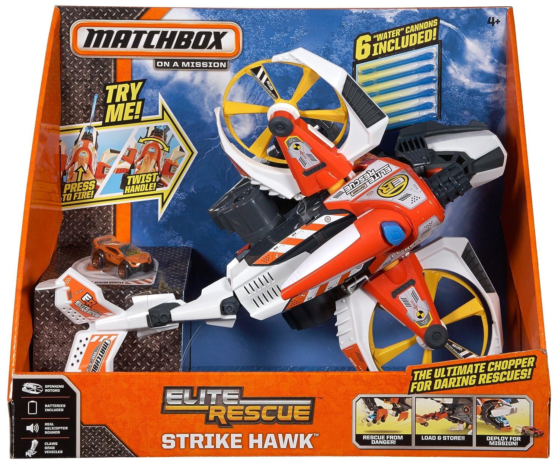 Matchbox Elite Rescue Strike Hawk Chopper: Toys  Games - Amazon.com:  19.95 at  amazon.com online deal