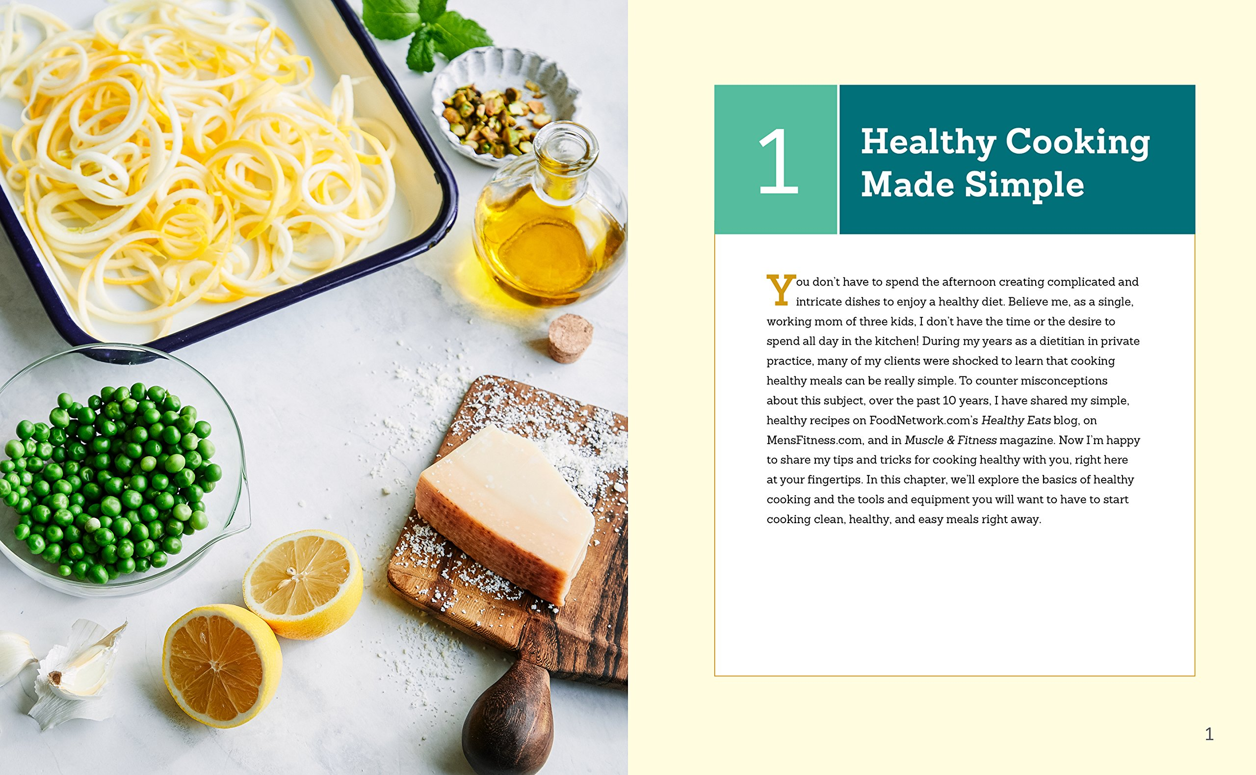 The Easy 5-Ingredient Healthy Cookbook: Simple Recipes to Make ...