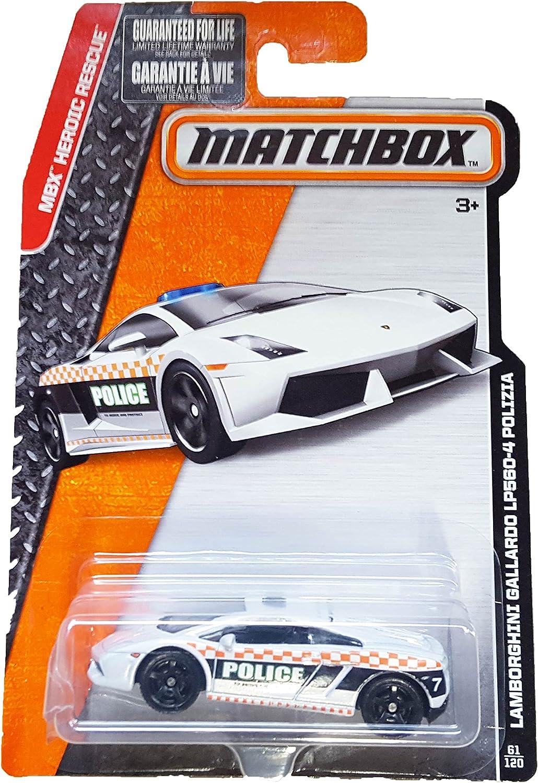 2020 Matchbox LAMBORGHINI GALLARDO POLICE #97 ☆ white ☆MBX CITY☆