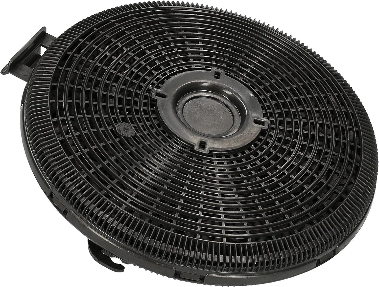?WESSPER® Campana extractora filtro para Teka DG3 90/60 (redonda, carbón)