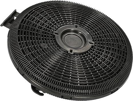 WESSPER® Campana extractora filtro para Teka DBB 90 inox (redonda, carbón): Amazon.es: Grandes electrodomésticos