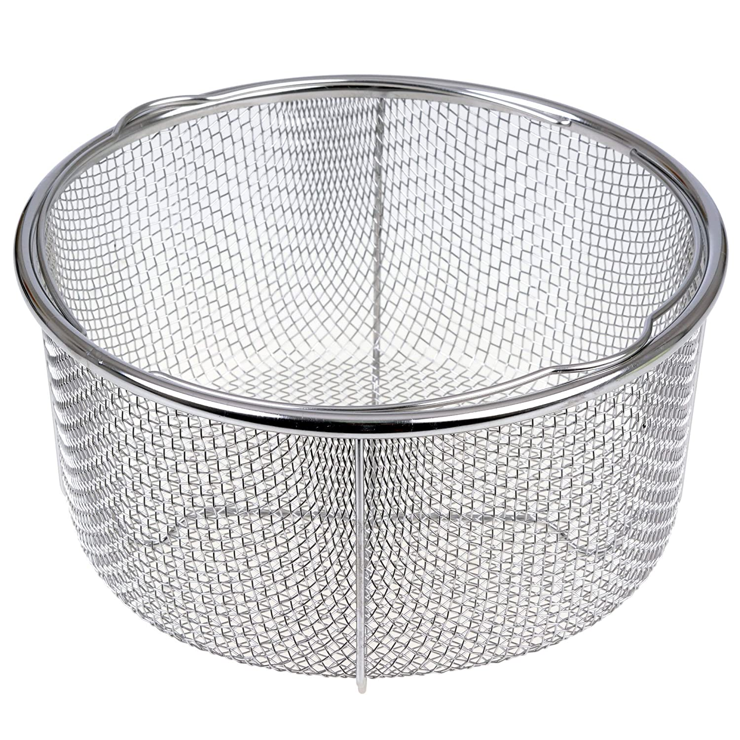 GRÄWE Steamer Insert for Cooking Pots - Steamer Basket made of Stainless Steel, Diameter 21 cm