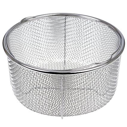 Accesorio cesta para cocina al vapor Gräwe redondo 21 cm con soporte ...