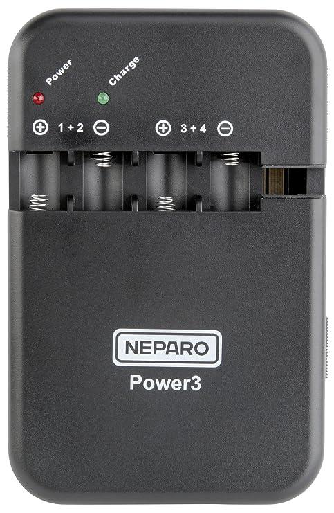 Neparo Power3 N8034069 - Cargador Universal para batería de ...