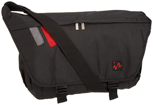 Amazon.com | Ice Red Drift Messenger Bag - Large (Black/Black ...