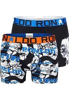 6e939d090e7 CR7 Cristiano Ronaldo Boys Underwear Briefs Multi-Coloured: Amazon ...