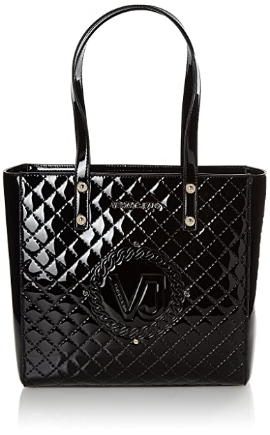 a3dc4b7b68 Versace Jeans Women s Linea M Shoulder Bag Black Nero (Nero)  Amazon ...