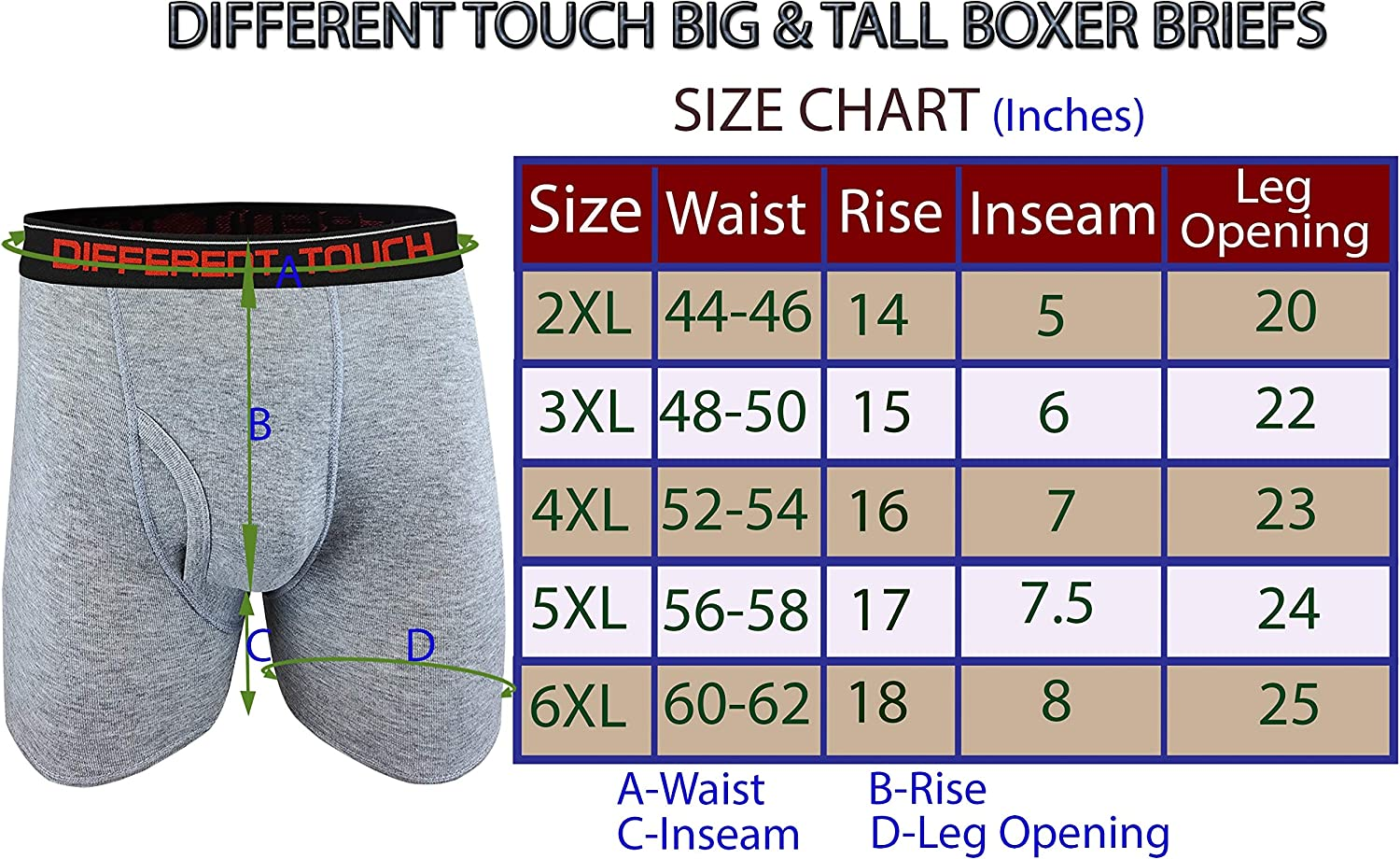 Mens Button Fly 6 Pack Original Classic Sport Designer Boxers Sizes SMALL-2XL