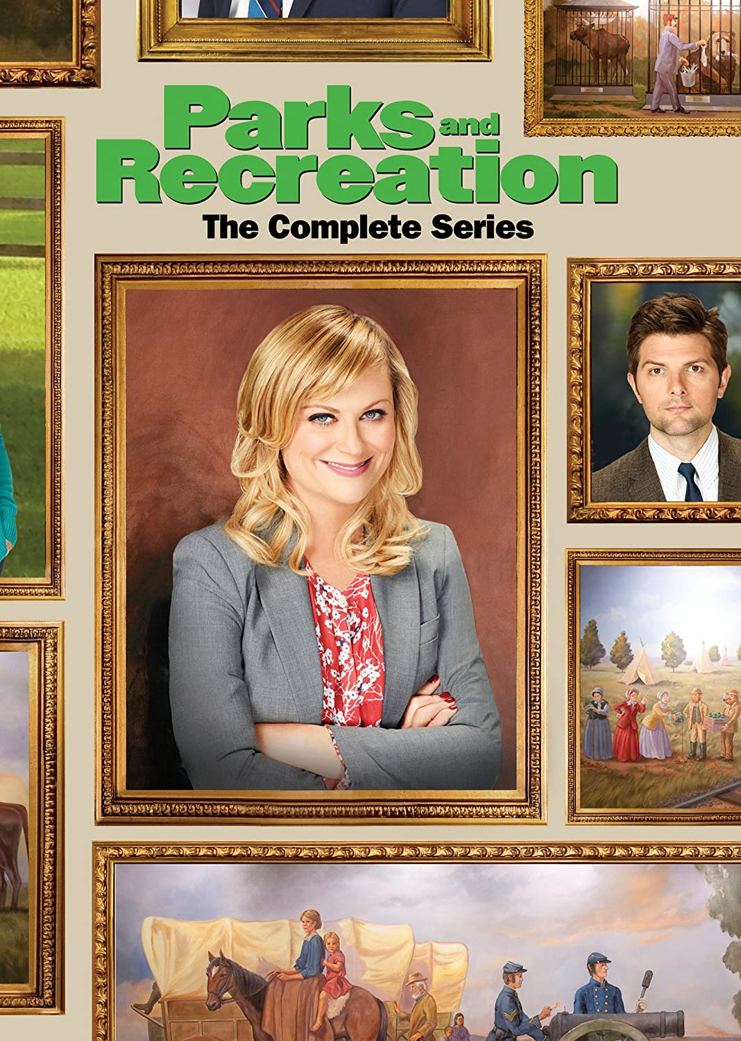 Parks And Recreation The Complete Series Amy Poehler Adam Scott Nick Offerman Aziz Ansari Aubrey Plaza Chris Pratt Retta Jim O Heir Movies Tv