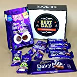 Best Dad Cadbury Dairy Mik Favourites Gift Box Ideal Father's Day Birthday Gift By Moreton Gifts