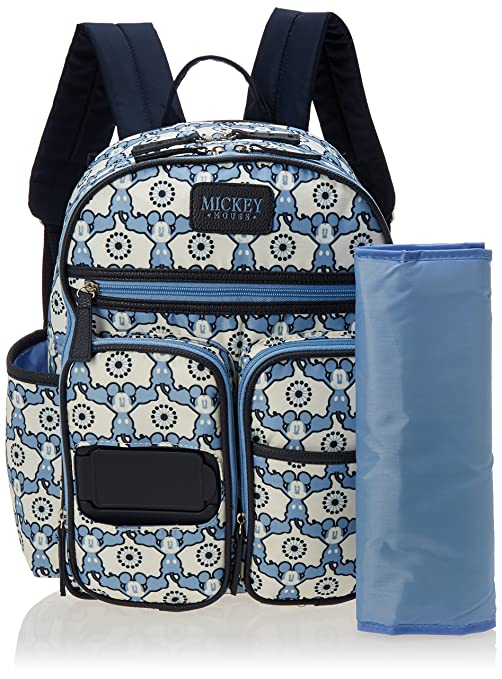 Amazon.com : Disney Mickey Mouse MultiPiece Backpack Diaper Bag Set : Baby