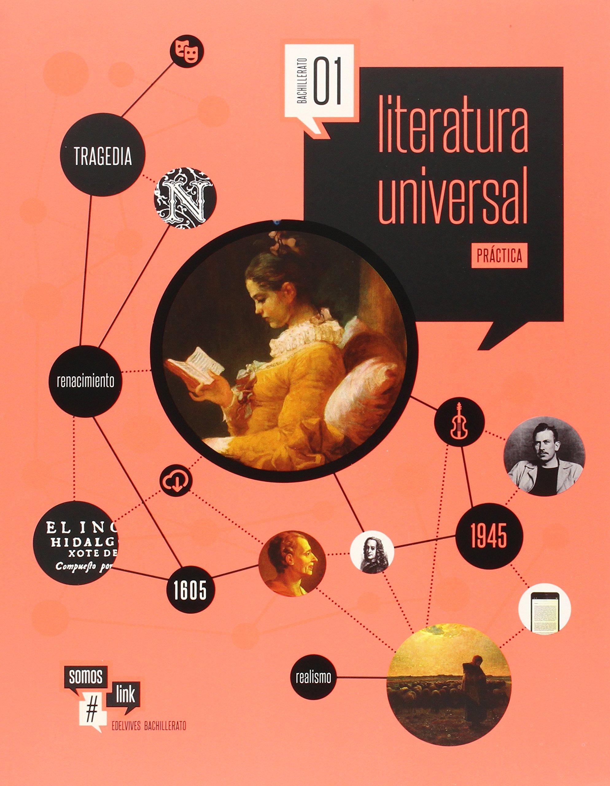 Literatura Universal 1º Bachillerato Somoslink - 9788426399649: Amazon.es: González-Serna Sánchez, José Mª, Llona Colino, Mª Casilda: Libros