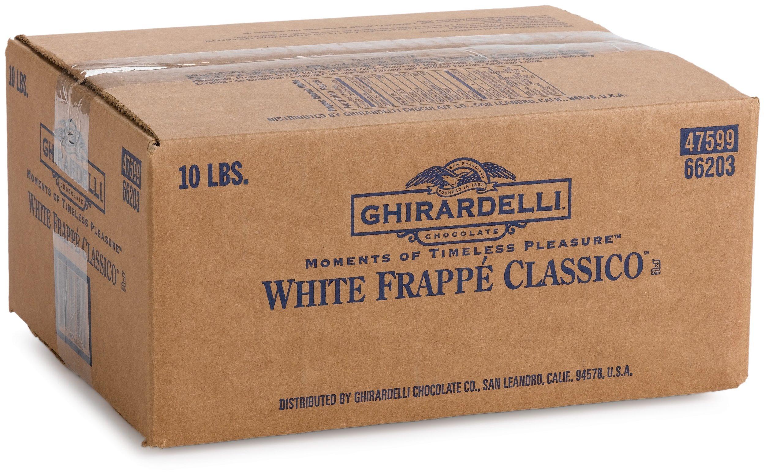 Ghirardelli Frappe Mix, Classic White, 10-Pound Box by Ghirardelli (Image #4)