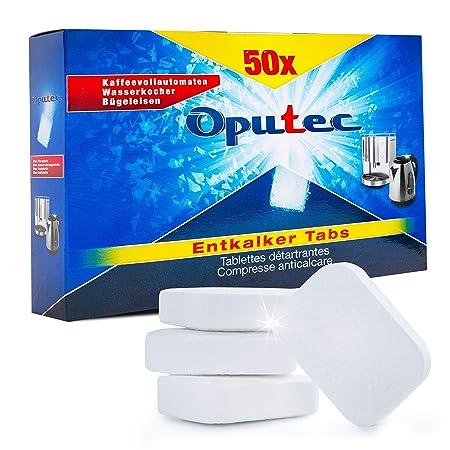Oputec 50_ek - Pastillas descalcificadoras para cafeteras ...