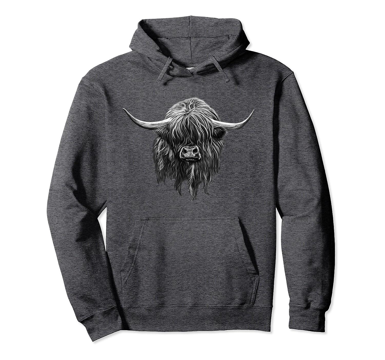 Wee Hamish The Scottish Highland Cow Hoodie-Awarplus