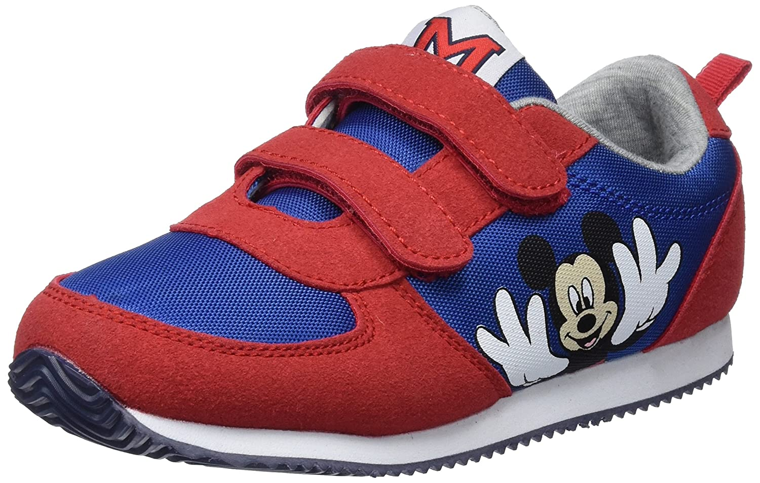 Zippy Dis Trainers Velcro Pu Red, Scape per Sport Outdoor Bambino 18-1663 Tc