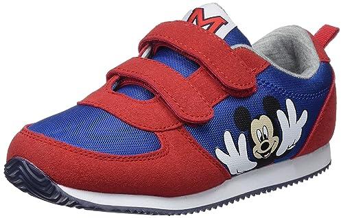 Zippy DIS Trainers Velcro PU, Zapatillas de Cross para Niños, Rojo (Chinese Red), 38 EU: Amazon.es: Zapatos y complementos