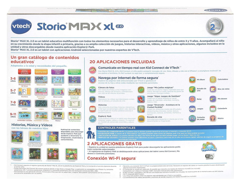 Amazon.com: VTech – Storio Max XL 2.0 7, Multicoloured (3480 – 194622): Toys & Games