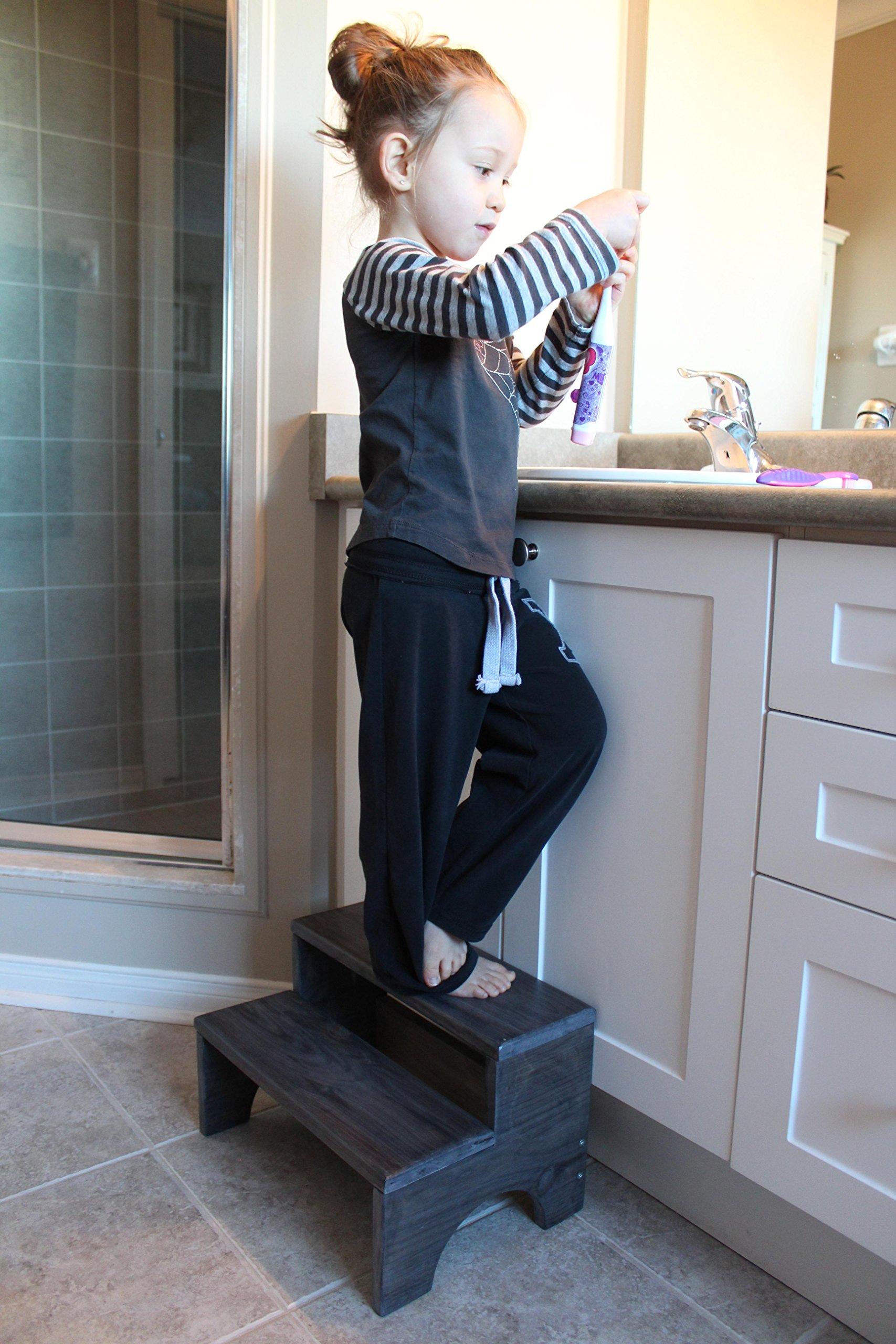 Handmade Wooden Step-Stool