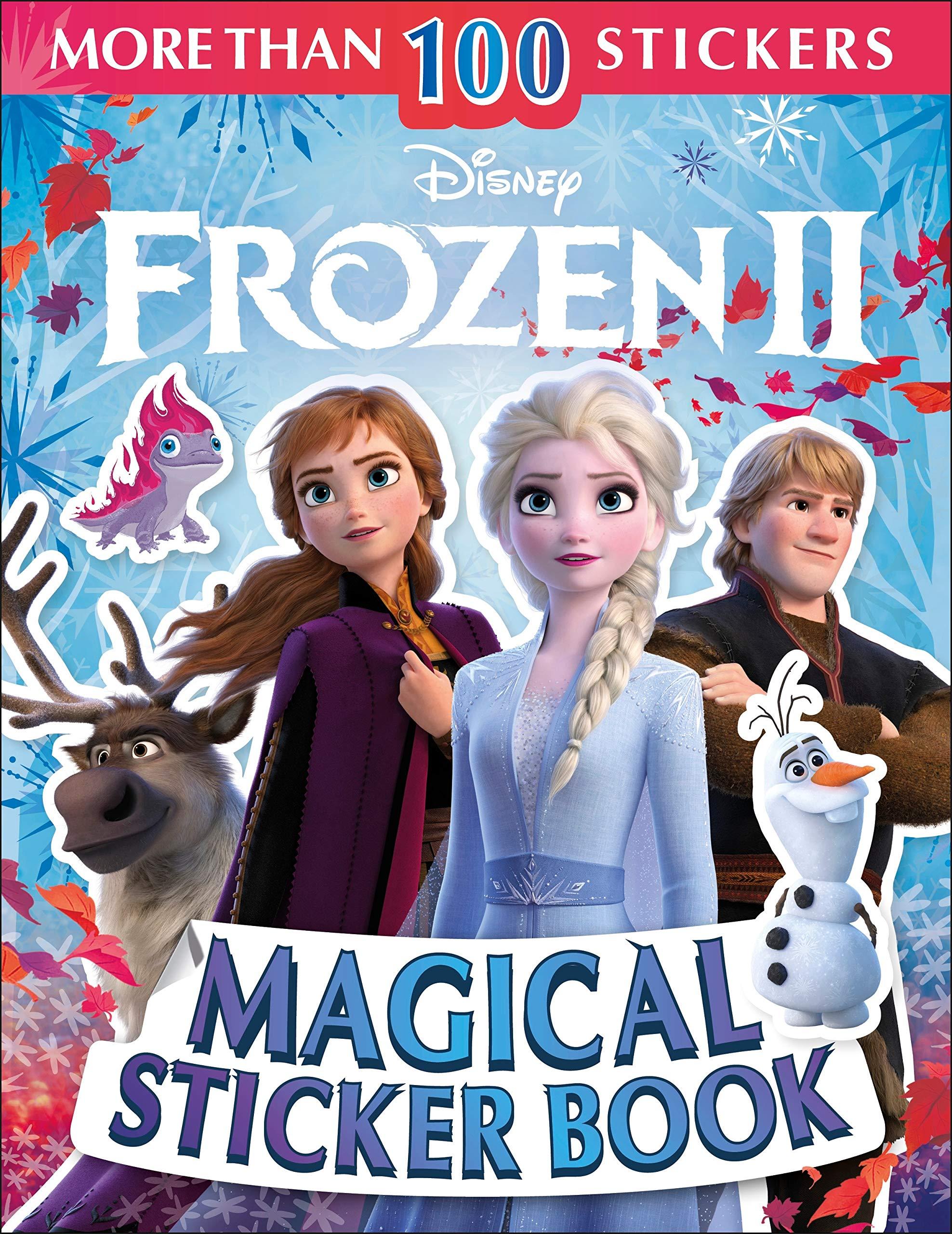 Image for Disney Frozen 2 Magical Sticker Book (Ultimate Sticker Book)