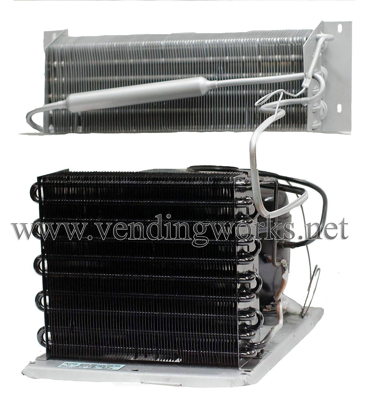Vendo Soda Vending Machine Refrigeration Cooling Unit Deck with new Compressor