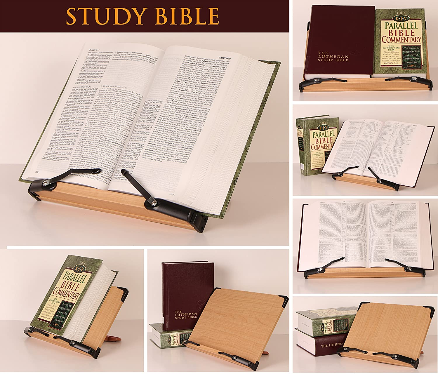 a book stand bs301 deluxe multipurpose book holder w
